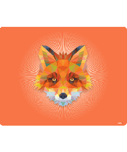 Origami Fox - iPhone 6 Plus Carcasa Plastic Premium