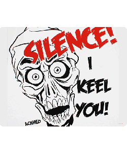 Silence I Keel You - iPhone 6 Plus Carcasa TPU Premium Neagra
