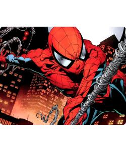 Spiderman - iPhone 6 Plus Carcasa TPU Premium Neagra