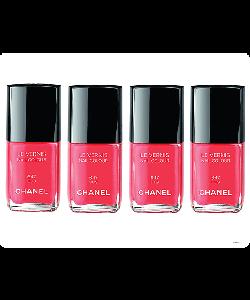 Chanel Lilis Nail Polish - Samsung Galaxy S4 Carcasa Transparenta Silicon