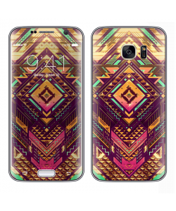 Abstract Diamond - Samsung Galaxy S7 Edge Skin