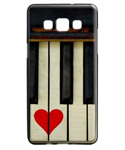 Piano Love - Samsung Galaxy A5 Carcasa Silicon