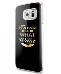 Focus - Samsung Galaxy S7 Carcasa Silicon