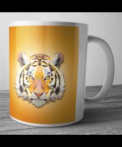 Cana personalizata - Tiger