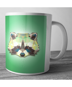 Cana personalizata - Raccoon