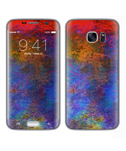Painted Metal - Samsung Galaxy S7 Edge Skin