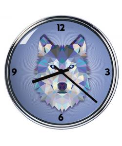 Ceas personalizat - Origami Wolf