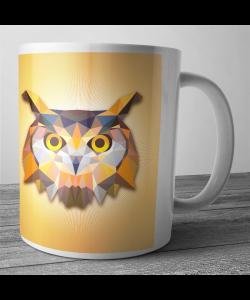 Cana personalizata - Owl