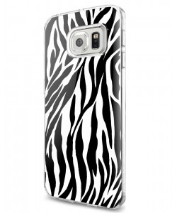 Zebra Labyrinth - Samsung Galaxy S7 Edge Carcasa Silicon