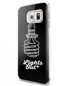 Lights Out - Samsung Galaxy S7 Edge Carcasa Silicon