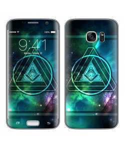 Triangle Galaxy 2 - Samsung Galaxy S7 Edge Skin