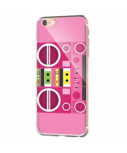 Boombox - iPhone 6/6S Carcasa Transparenta Silicon