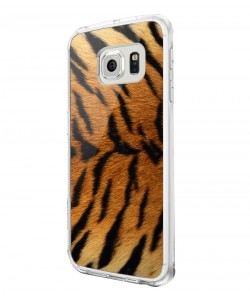 Tiger Fur - Samsung Galaxy S6 Carcasa Silicon