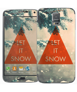 Let it Snow - Samsung Galaxy S5 Skin