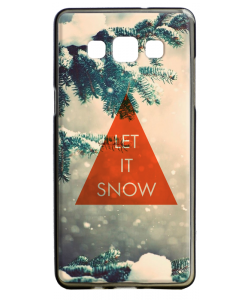 Let it Snow - Samsung Galaxy A5 Carcasa Silicon
