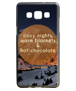 Cozy Nights - Samsung Galaxy A5 Carcasa Silicon