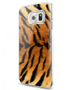 Tiger Fur - Samsung Galaxy S7 Edge Carcasa Silicon