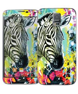Zebra Splash - Samsung Galaxy S5 Skin