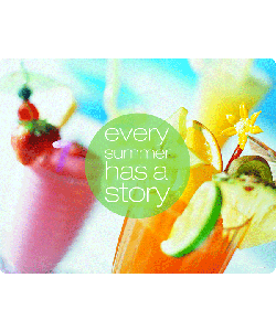 Summer Story - Samsung Galaxy S4 Carcasa Transparenta Silicon