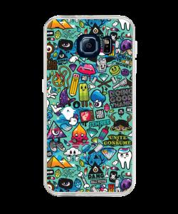 Urban Chaos - Samsung Galaxy S6 Edge Plus Carcasa Silicon