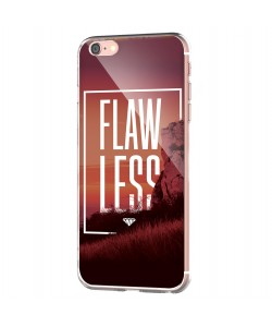 Flawless - iPhone 6 Carcasa Transparenta Silicon