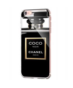 Coco Noir Perfume - iPhone 6 Carcasa Transparenta Silicon