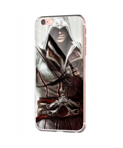 Assassin - iPhone 6 Carcasa Transparenta Silicon
