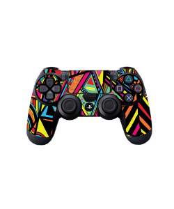 Patchy Stripes - PS4 Dualshock Controller Skin