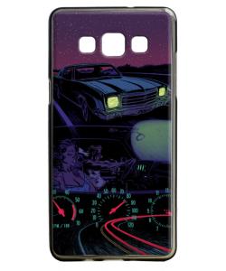 Night Ride - Samsung Galaxy A5 Carcasa Silicon