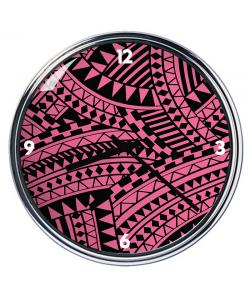 Ceas personalizat - Pink & Black
