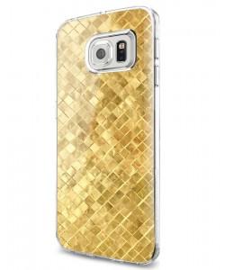 Squares - Samsung Galaxy S7 Edge Carcasa Silicon