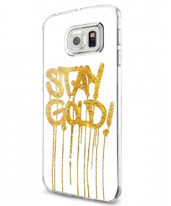 Stay Gold - Samsung Galaxy S7 Edge Carcasa Silicon