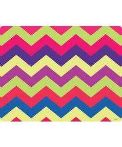 Colorful Zig Zag - Samsung Galaxy S4 Carcasa Transparenta Silicon
