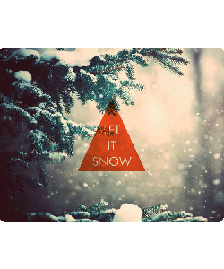 Let it Snow - iPhone 6 Skin