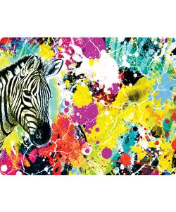 Zebra Splash - iPhone 6 Plus Skin