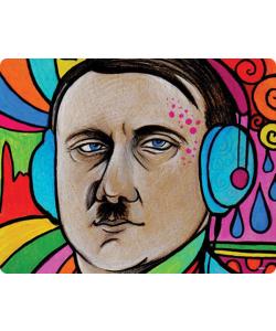 Hitler Meets Colors - Huawei P10 / P10 Lite / P10 Plus Carcasa Transparenta Silicon