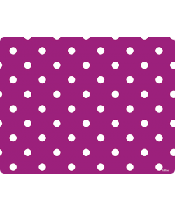 Purple White Dots