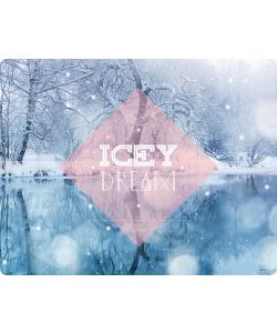 Icey Dream - Samsung Galaxy S4 Carcasa Transparenta Silicon
