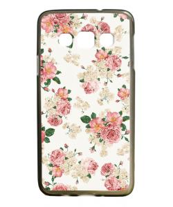 Peacefully Pink - Samsung Galaxy A3 Carcasa Silicon Premium