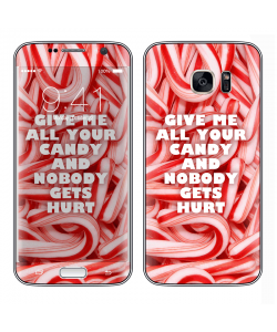 Give Me All Your Candy - Samsung Galaxy S7 Edge Skin
