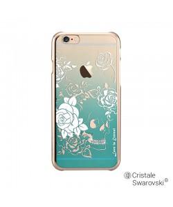 Crystal Charm Green - Devia Carcasa iPhone 6/6S (cristale si rama electroplacata)