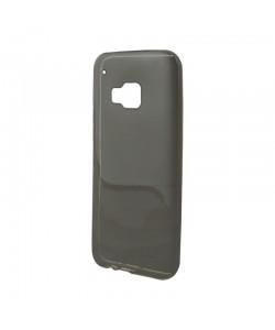 Lemontti - HTC One M9 Carcasa Silicon Negru (folie inclusa)