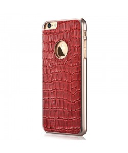 Gallery Passion Red - Devia Carcasa iPhone 6/6S Piele Naturala