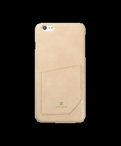 Just Must Chic Beige - iPhone 6/6S Carcasa TPU (cu buzunar)