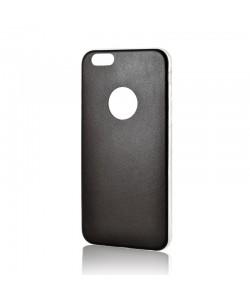 Lemontti Hybrid - iPhone 6/6S Carcasa Silicon Ultraslim Negru