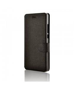 Lemontti Jelly - Huawei P8 Lite Husa Book Neagra