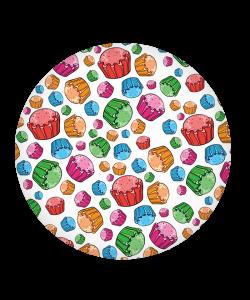 Popsocket Rainbow Cupcakes, Accesoriu mobil
