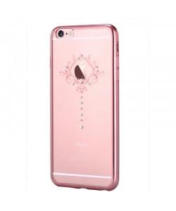 Iris Rose Gold - Devia iPhone 6 Plus Carcasa Silicon (Cristale Swarovski®)