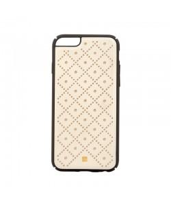 Just Must Carve VI Beige - iPhone 6/6S Carcasa Piele (protectie margine 360°)