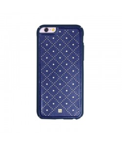 Just Must Carve VI Navy - iPhone 6/6S Carcasa Piele (protectie margine 360°)